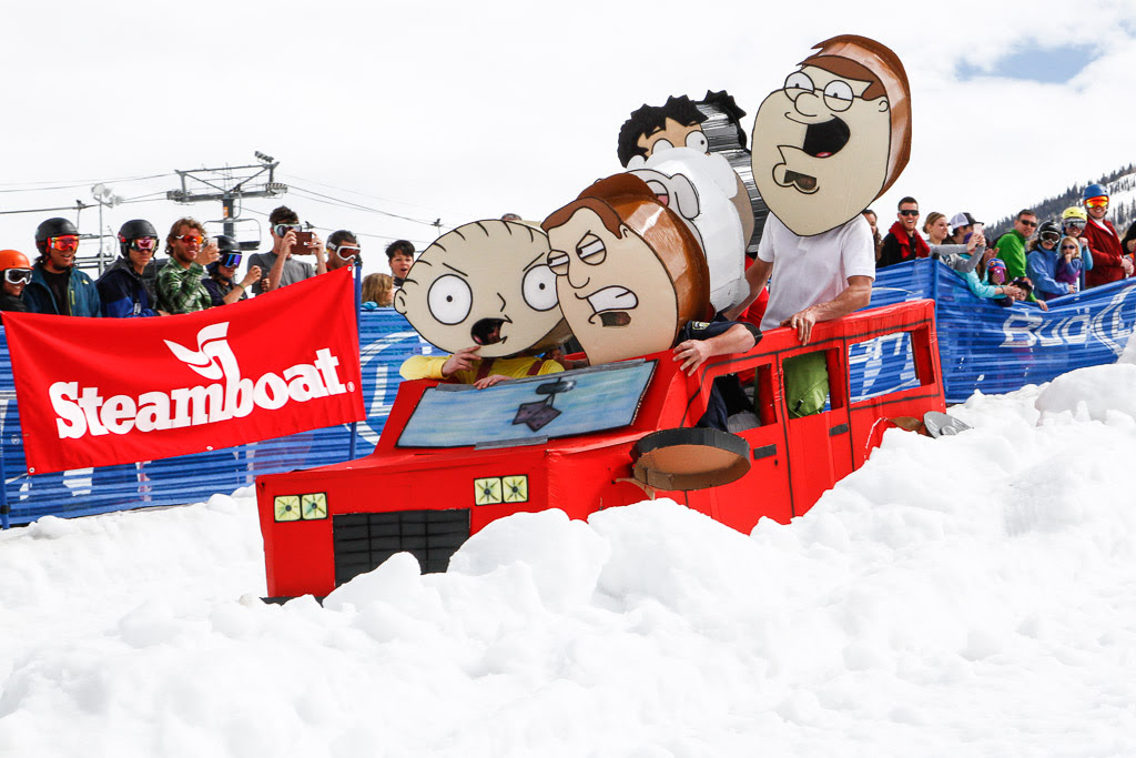 """""""Cardboard Classic - Family Guy does Steamboat."""" Submitted by George Fargo."""