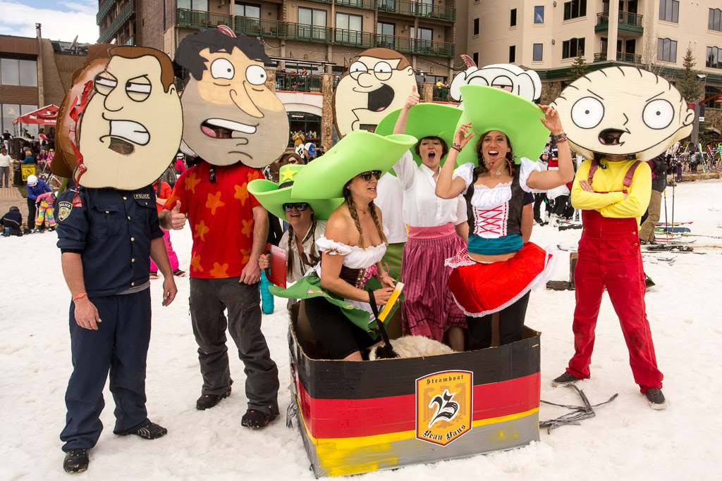 """""""Cardboard Classic - Family Guy stops off at the Brau Haus."""" Submitted by George Fargo."""