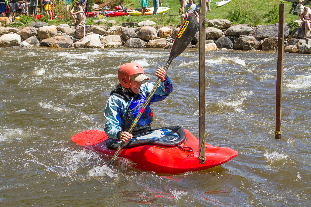 Riverfest Kayak Slalom. Submitted by George Fargo.