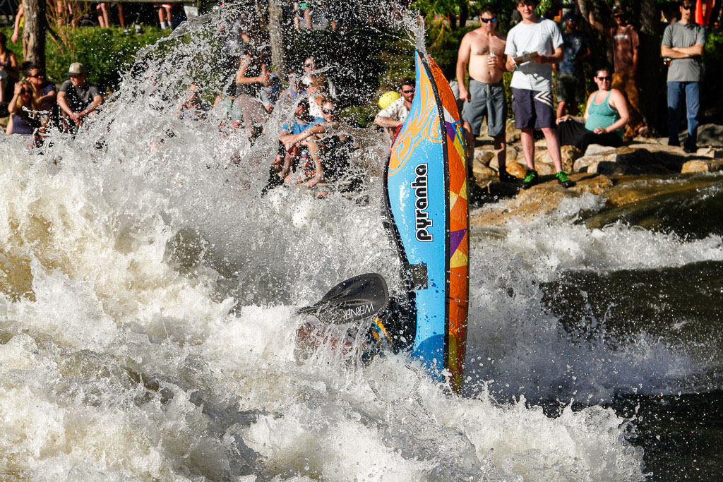 Riverfest Kayak Rodeo at C-Hole. Submitted by George Fargo.