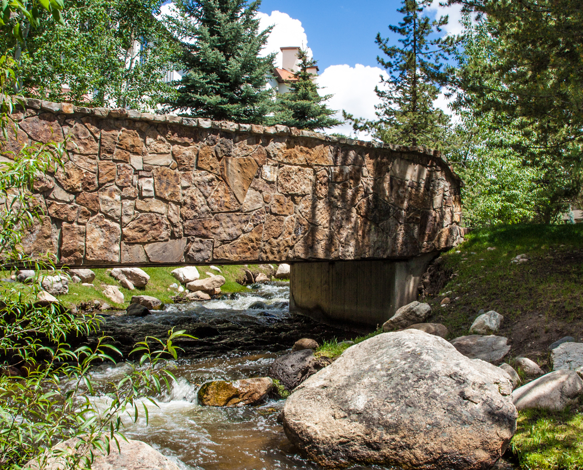 The stone bridge on the Core Trail. Submitted by G. Fredric Reynolds.
