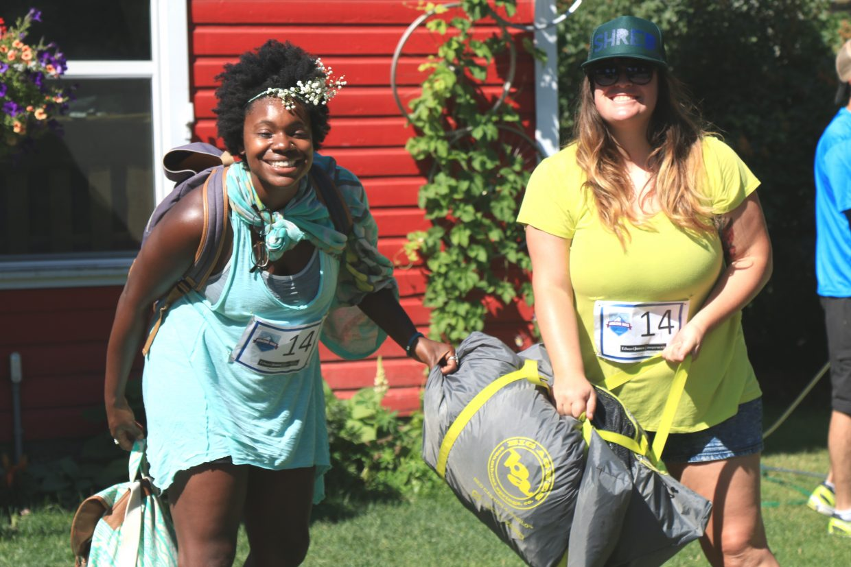 Danielle Zimmerer and Hayley Sugarcane were Amazing Race partners.
