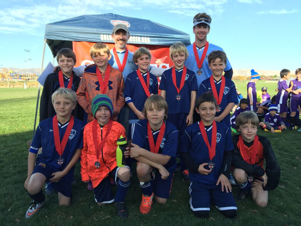 """""""CONGRATULATIONS to the Steamboat Blizzard U-10 Boys soccer team for their 2nd Place finish in the Grand Junction CSA Tournament!"""" Submitted by Mike Malone."""
