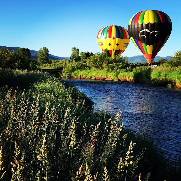 Balloons over Yampa. Submitted by Grant Kinsley.