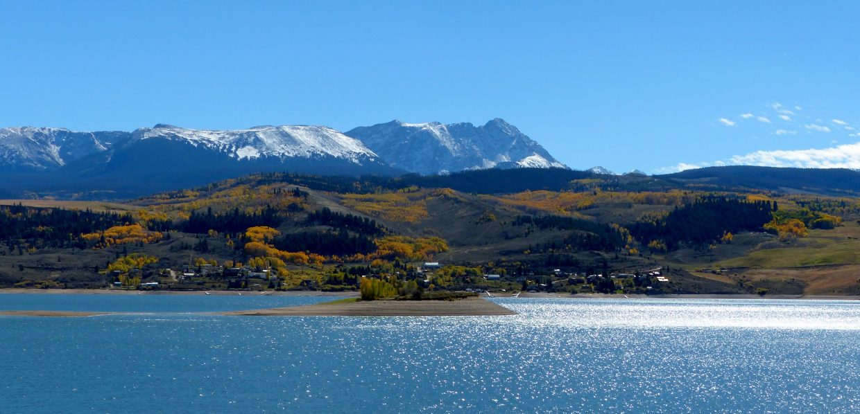 Green Mountain Reservoir is looking beautiful in the fall, off Highway 9 between Silverthorne and Kremmling. Submitted by: Shannon Lukens