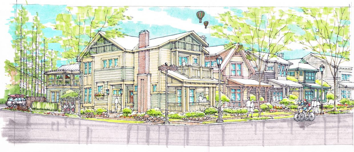 The Harvey Street neighborhood concept planned along Anglers Drive has undergone a change that pared down the number and types of units to 24 single-family homes.