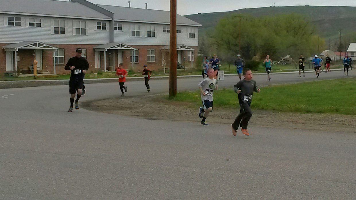 2014 Hayden Cog Run 5k participants. Submitted by David Torgler.