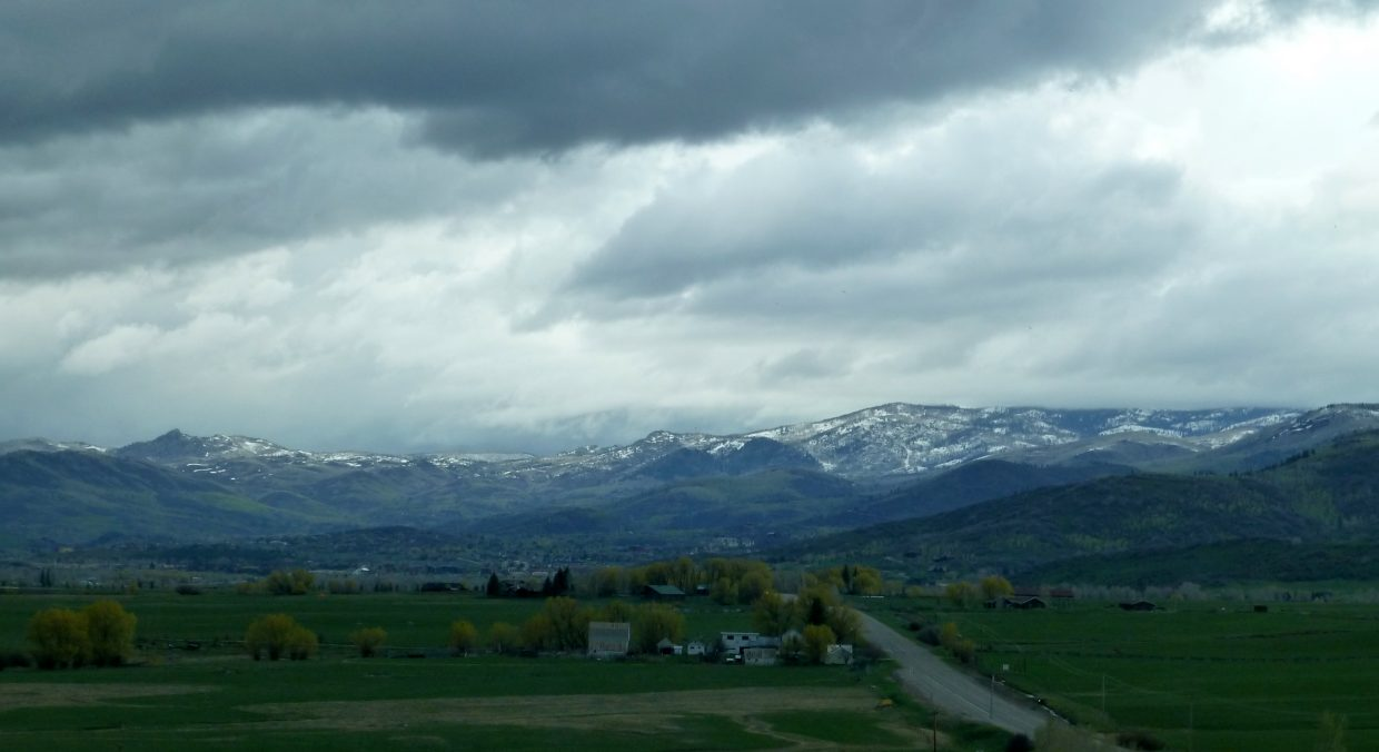 Heading into Steamboat. Submitted by Gail Hanley.