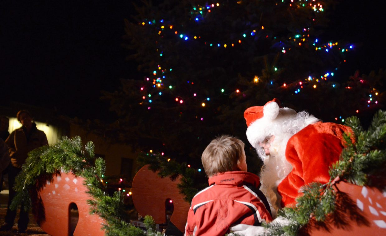 Share your Christmas wishes with Santa this weekend at a variety of events happening in Routt County.