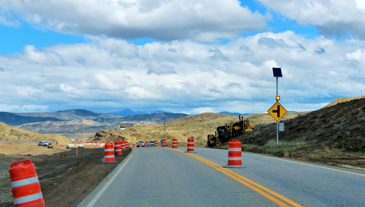 Highway 9 construction project. Submitted by Shannon Lukens.