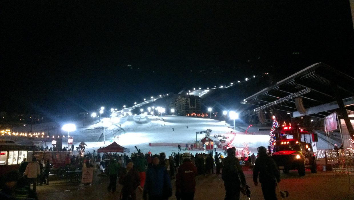 Steamboat Ski Area opens for its first night skiing ever! Submitted by: Sam Daniels