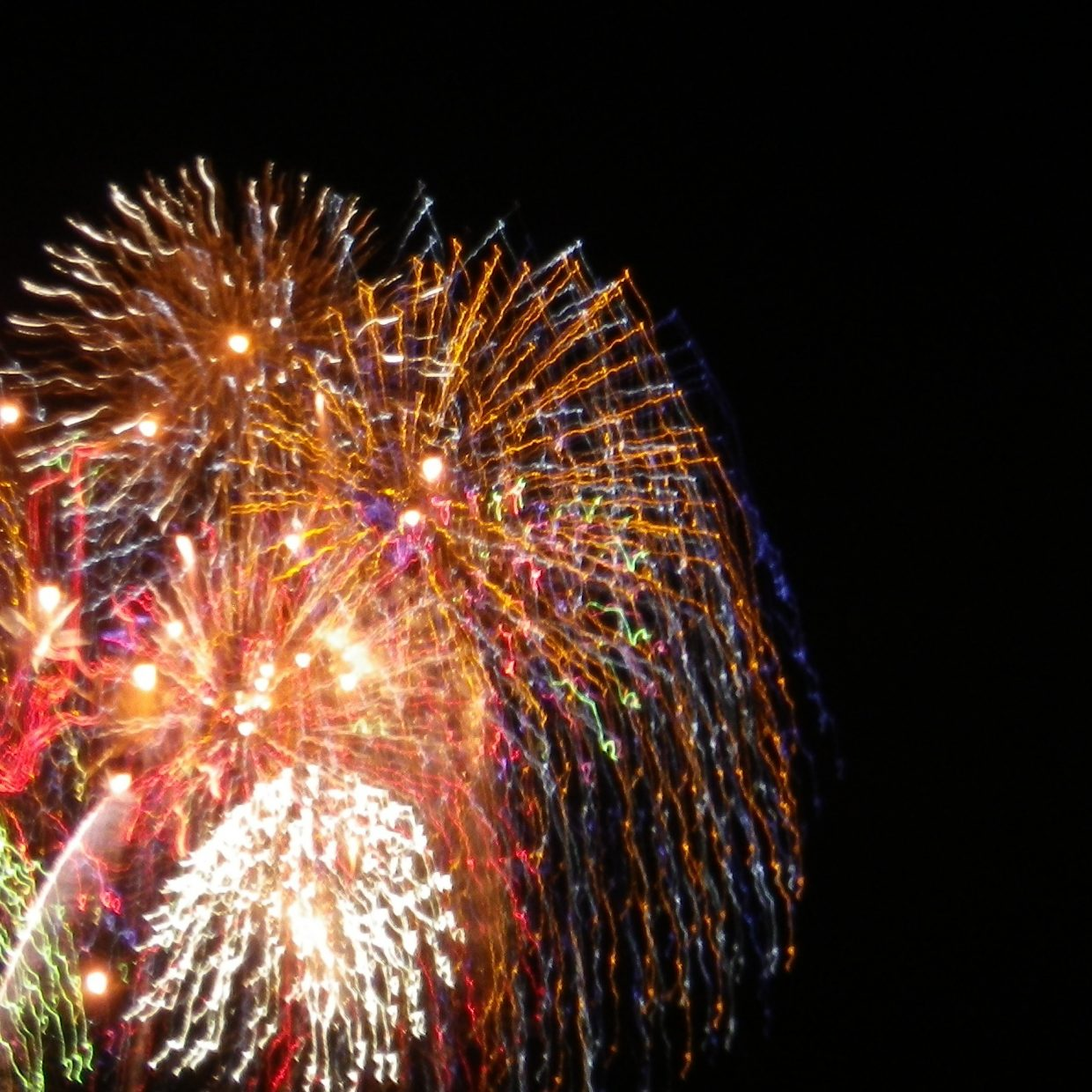 Fourth of July Fireworks Submitted by Leonard Auter.