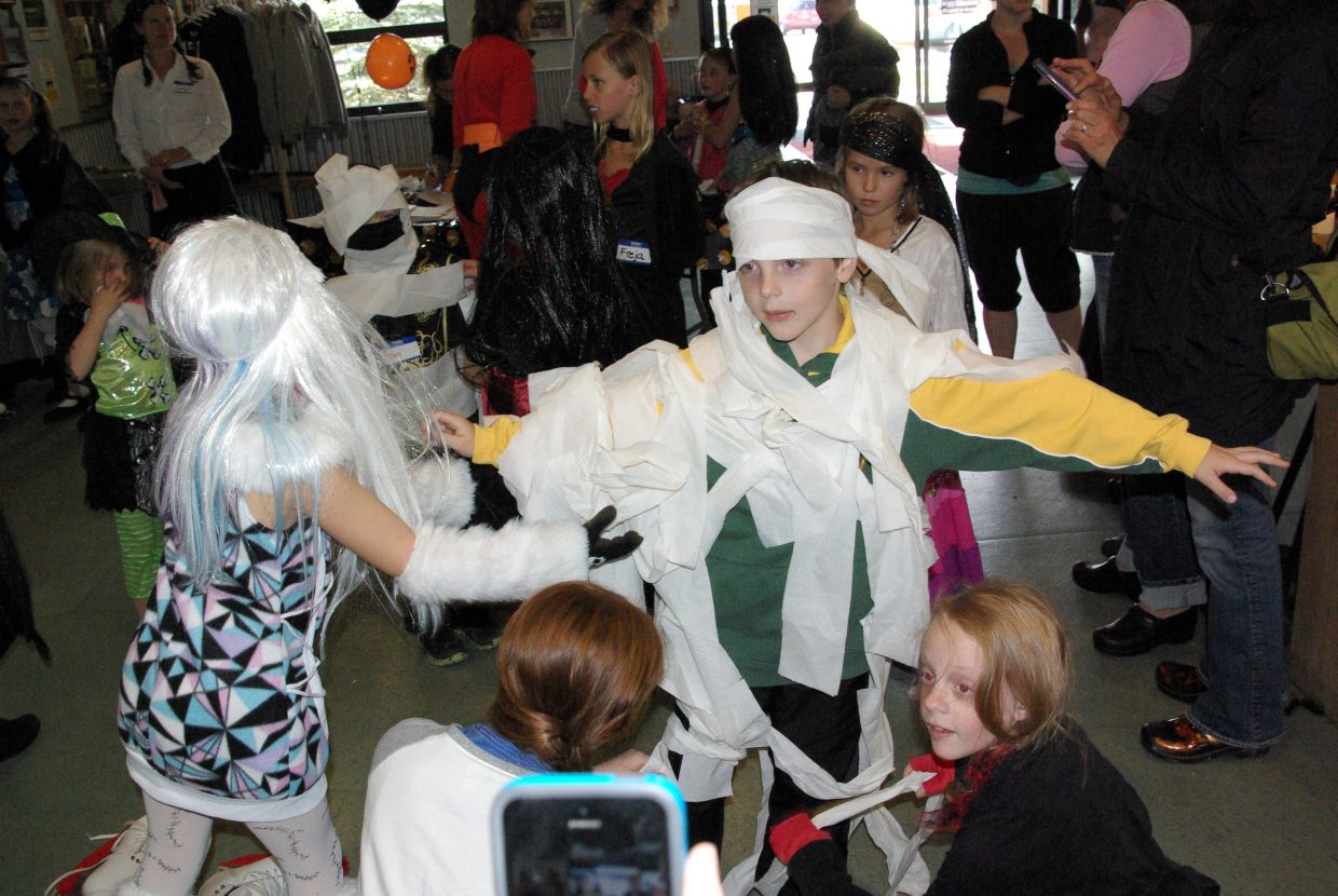 Steamboat Springs Figure Skating Club's Halloween ice skating party. Submitted by: Linda Curzon