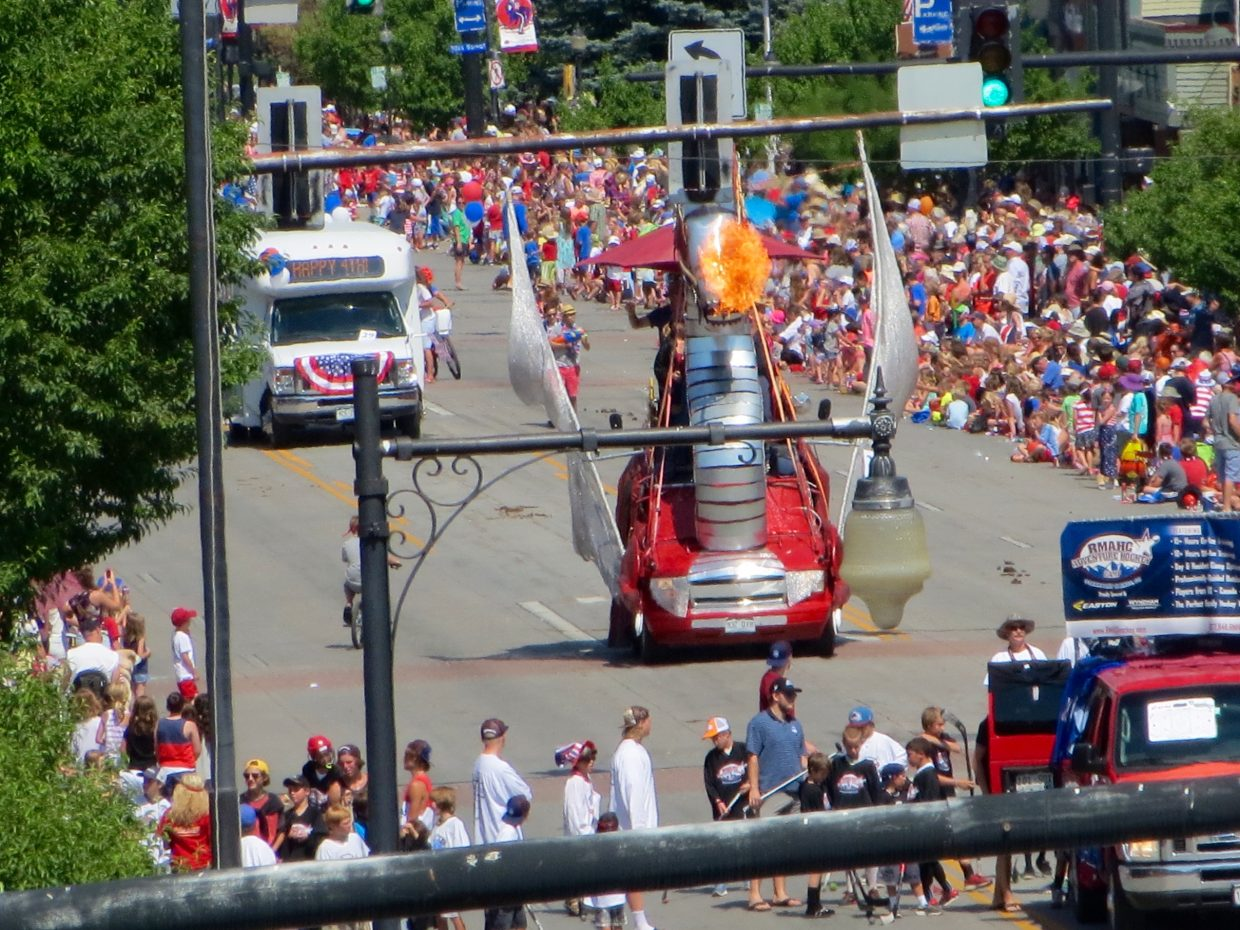 July 4 Parade. Submitted by John Bottenberg.