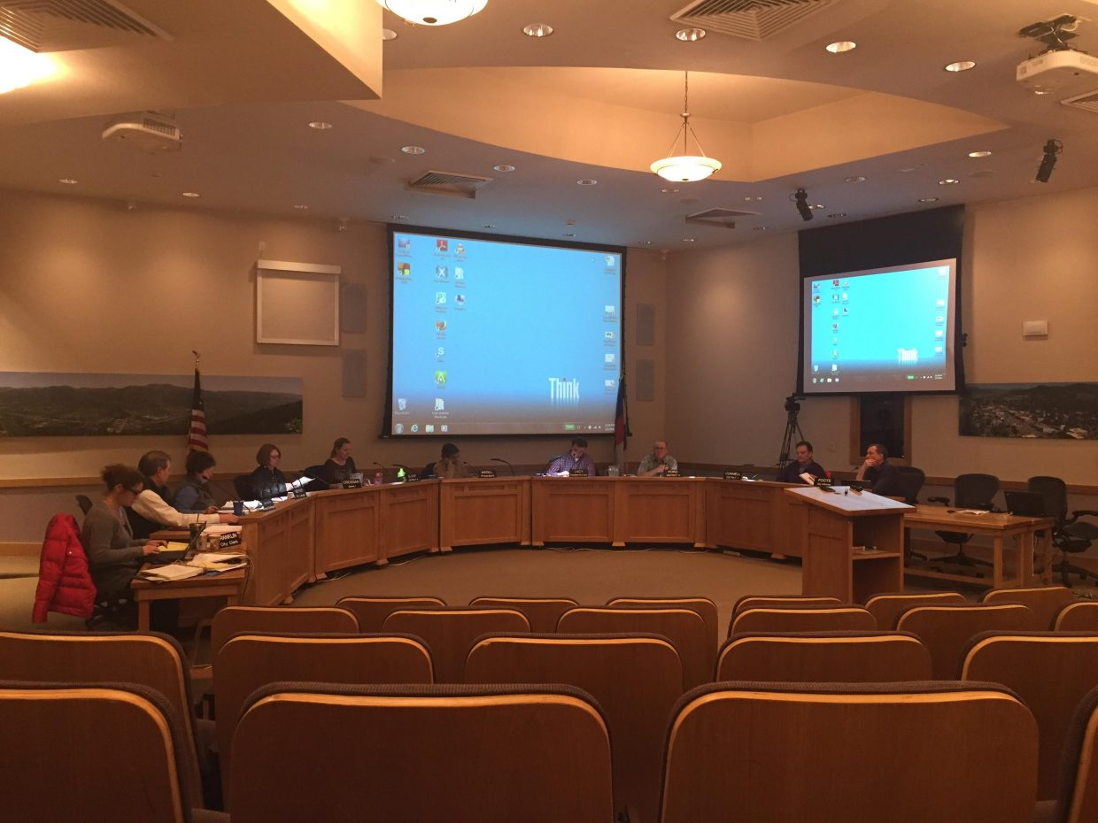 The Steamboat Springs City Council appeared groggy on Tuesday night as midnight approached in Citizens Hall.