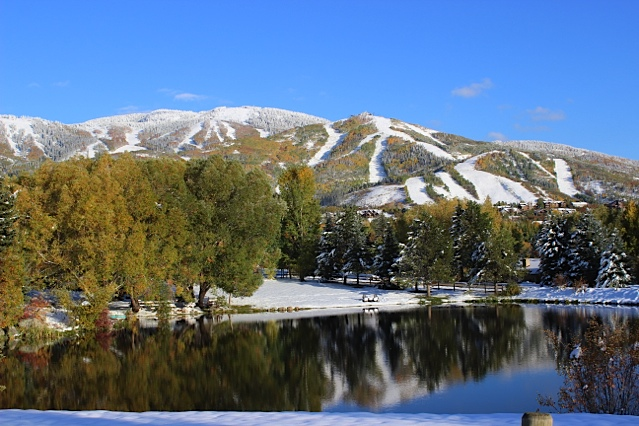 Just another day in paradise. Taken Saturday off Anglers Drive in Steamboat. Submitted by: Ron Spangler