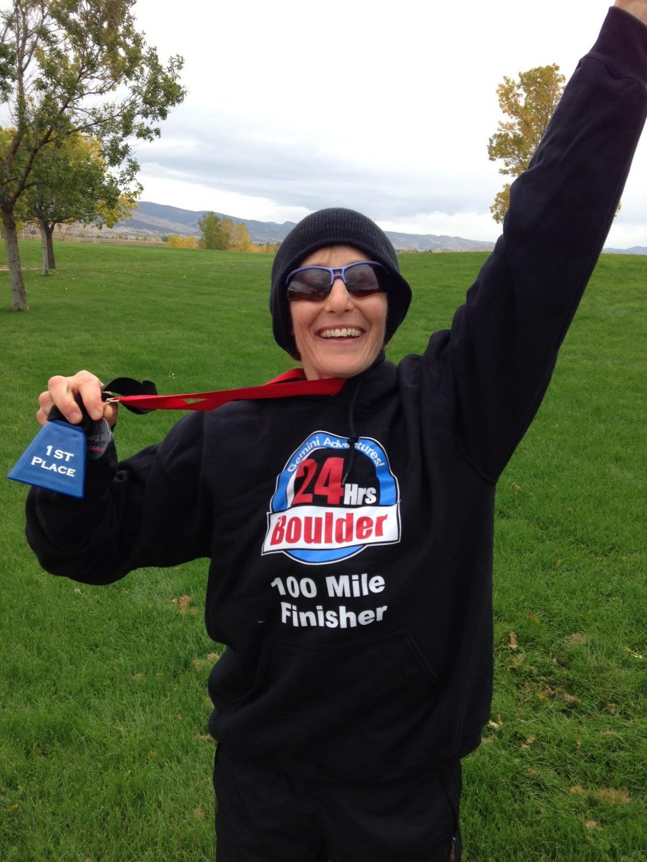Oak Creek's Melissa Uchitelle-Rogers, a frequent 50-mile runner and former Ironman finisher, completed her first 100-mile race last weekend in Boulder. Uchitelle-Rogers called the experience a spiritual journey, one that challenged her throughout.