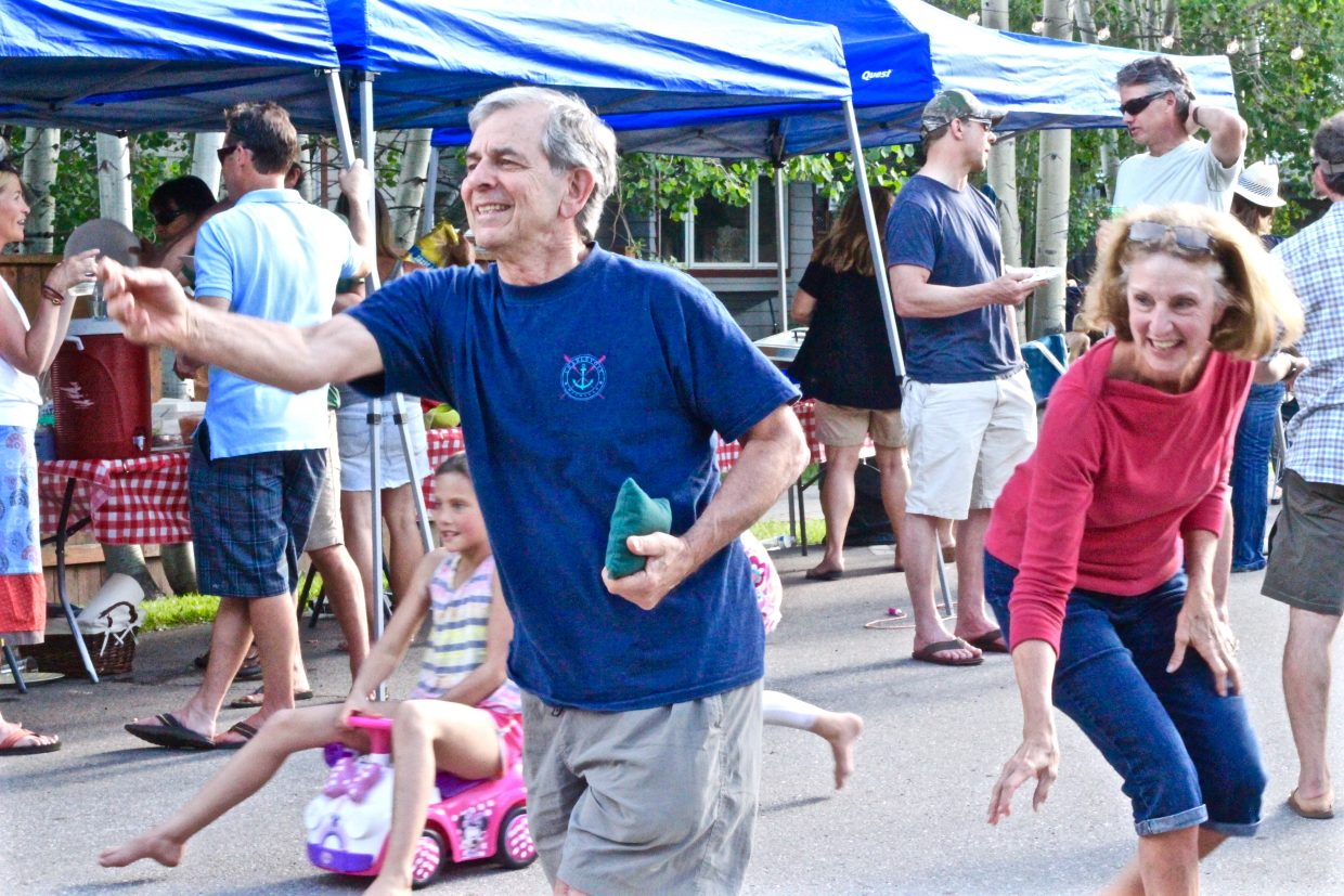 Neighbors of Merritt Street celebrate in an epic Block Party! Submitted by Danielle Zimmerer.