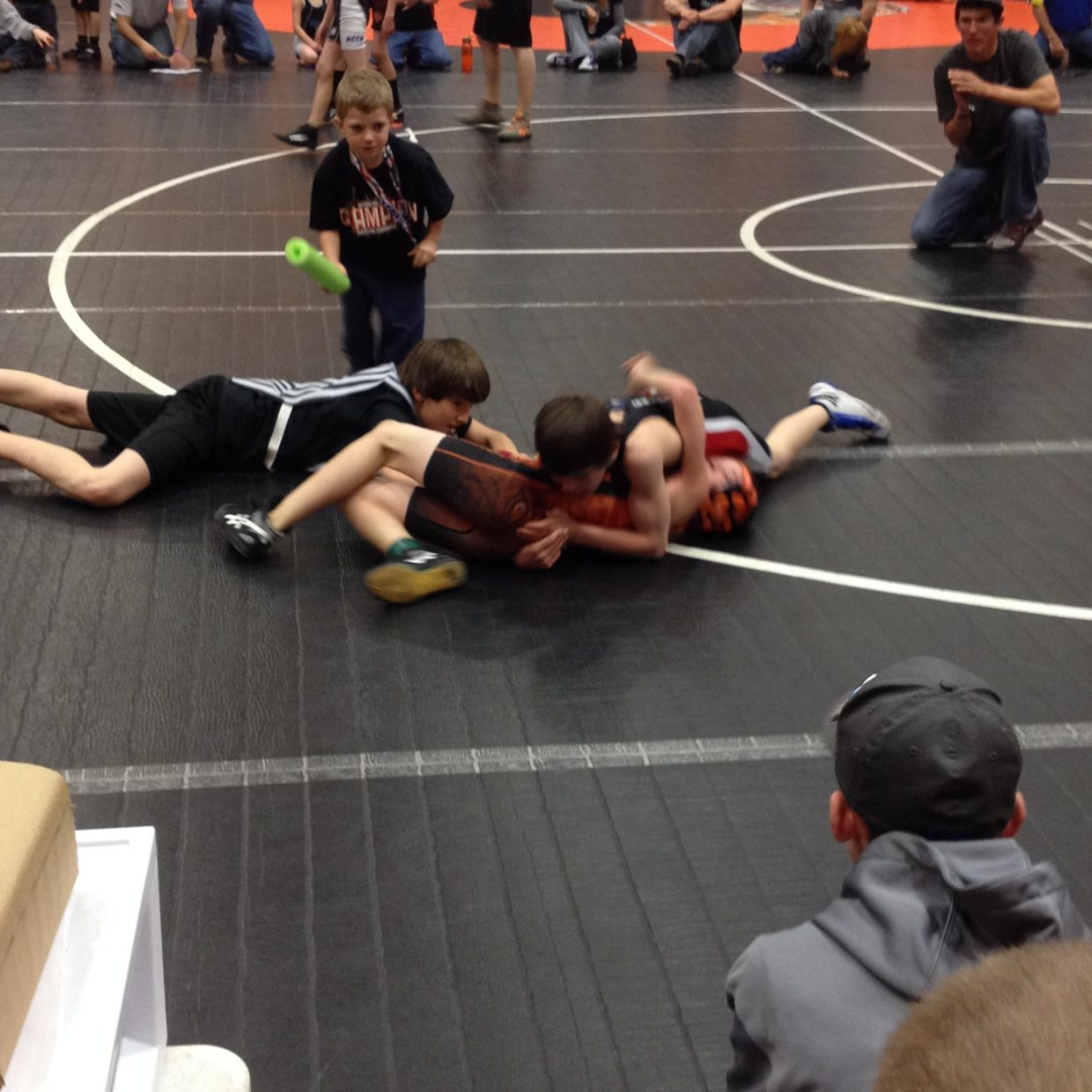 Pee Wee Wrestling Tournament on Saturday in Hayden. Submitted by David Torgler.