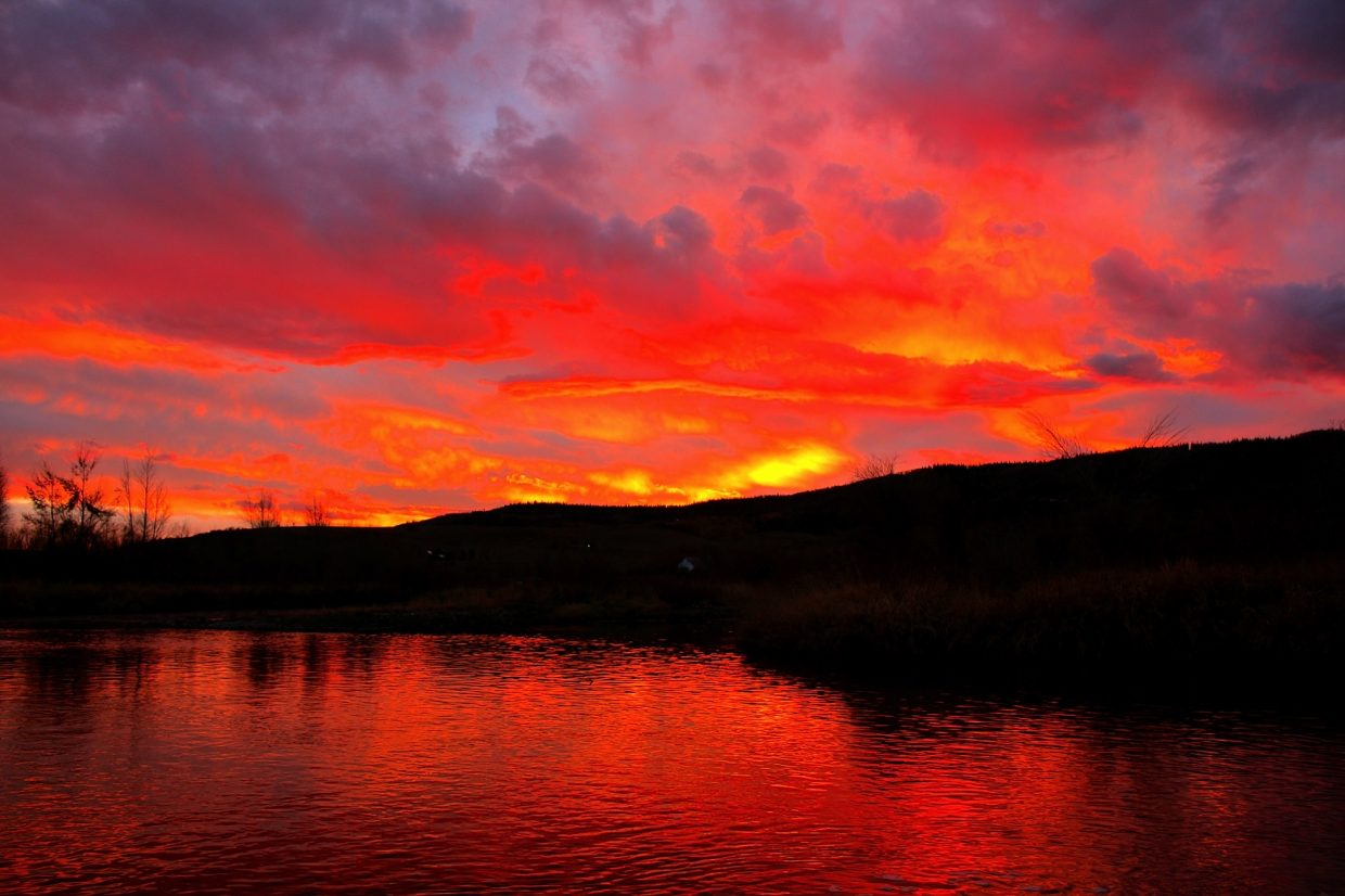 Red Sunset on Sunday. Submitted by: Ryan Lohan