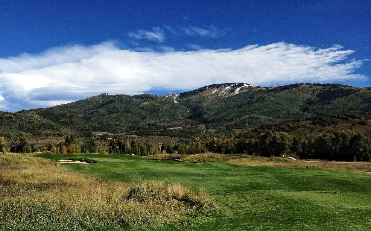 Day 2, Haycup Open, Hole #7. Submitted by: Chris Lanham