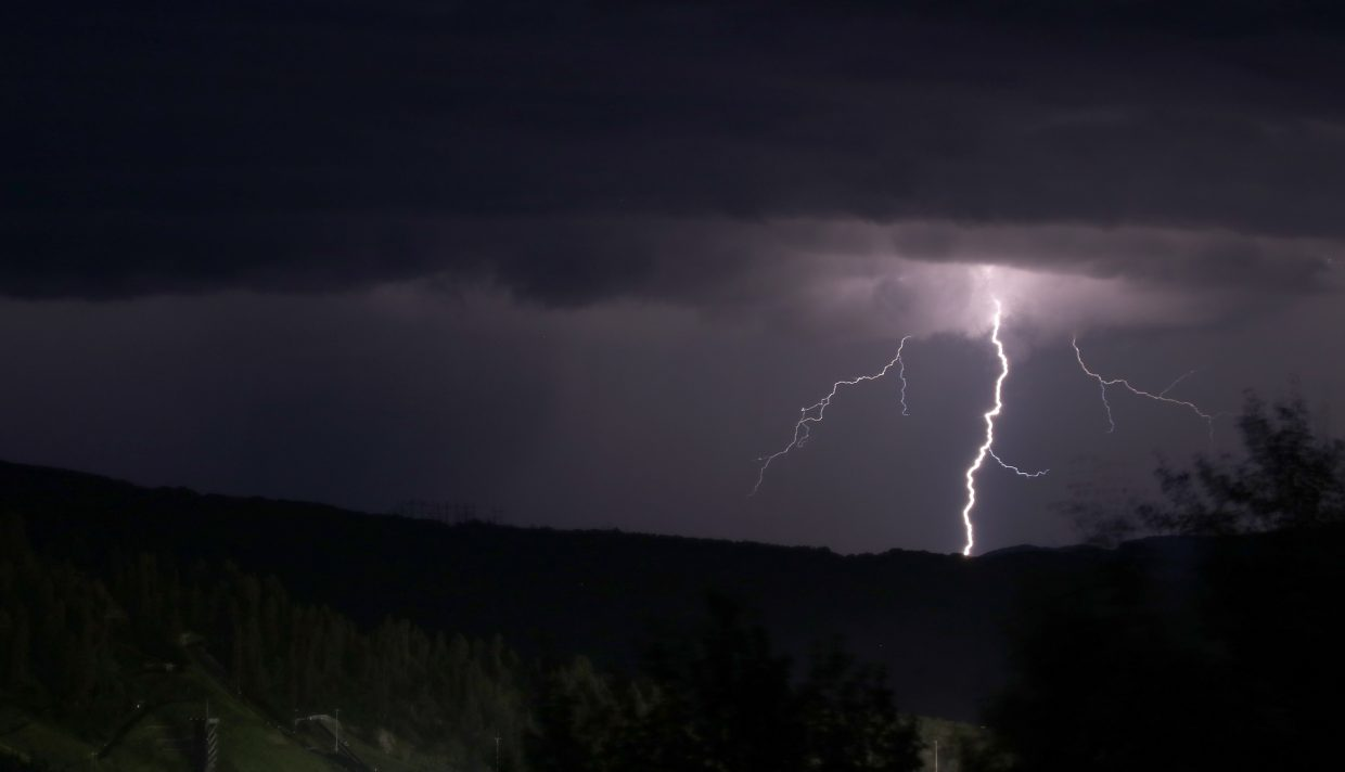 Lighting the night sky. Submitted by Shawn Stoehr.