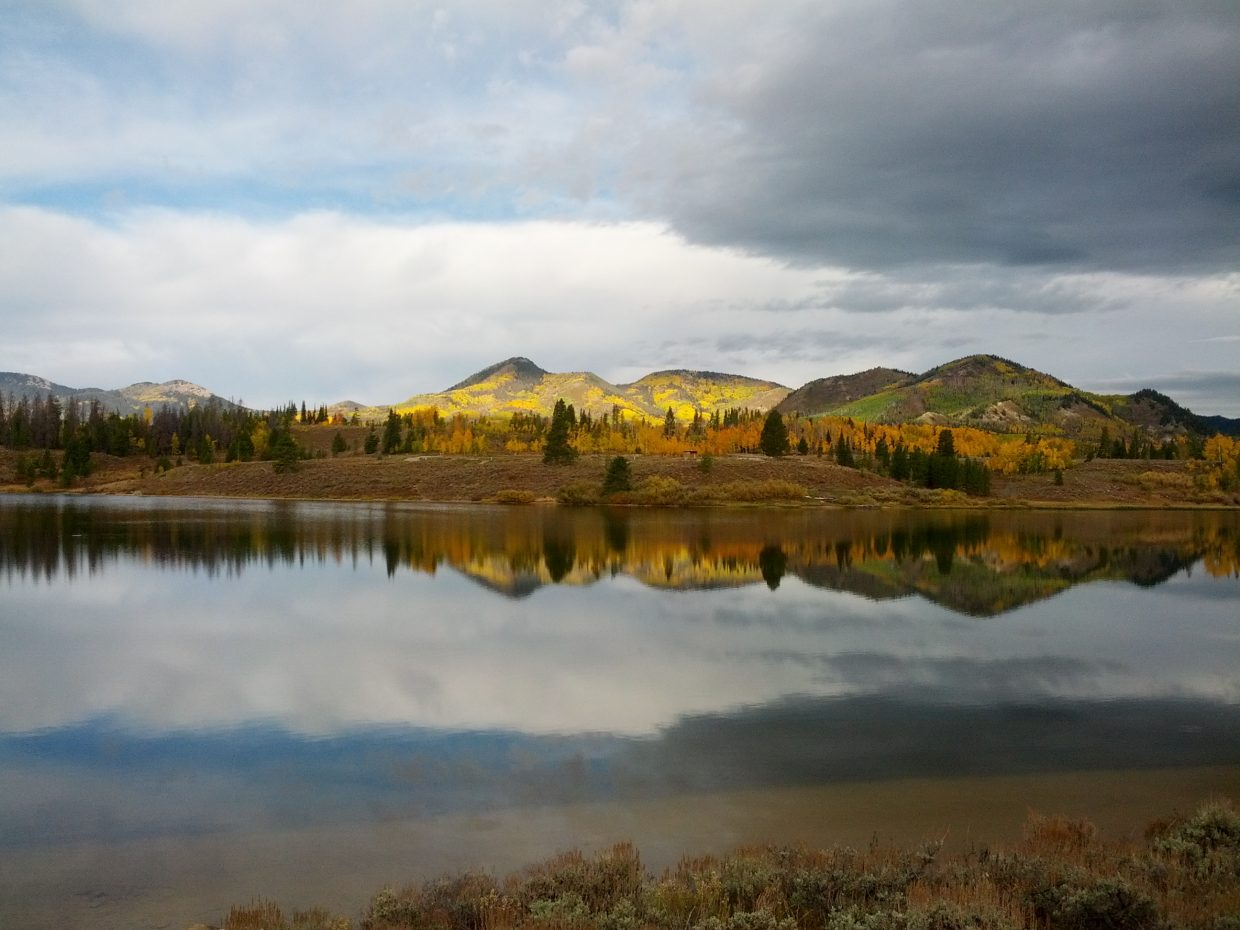 Placid Steamboat Lake. Submitted by: Thomas Ringwelski