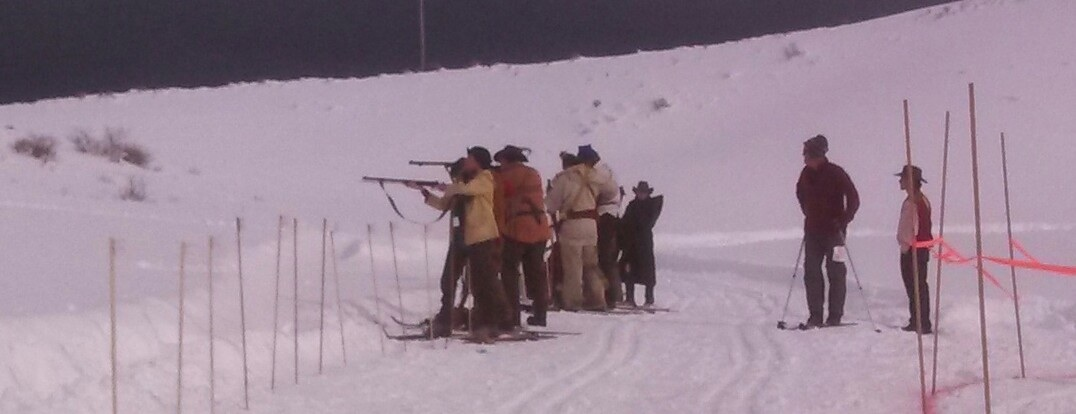 Muzzleloading Biathlon held at the Routt County Rifle Club on Saturday afternoon. Submitted by: Frannie Reinier