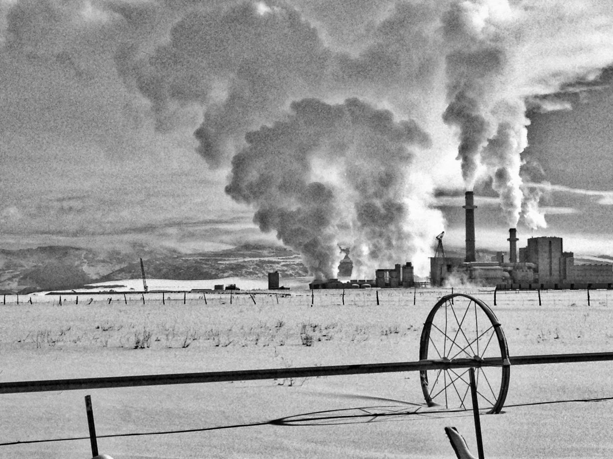 Hayden power plant. Submitted by: Jeff Hall