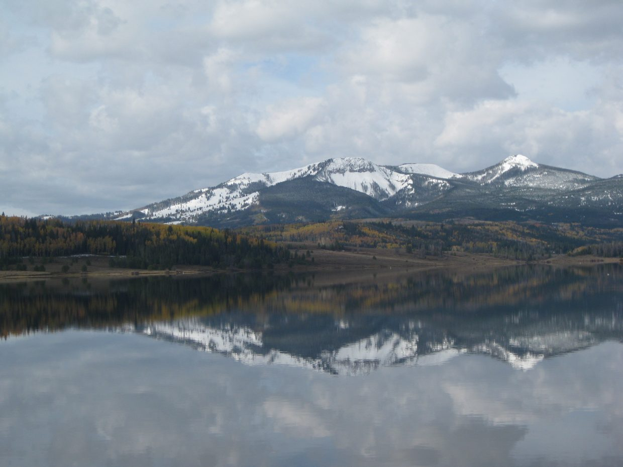 Reflections on Steamboat Lake: Submitted by: Dustin Stratton