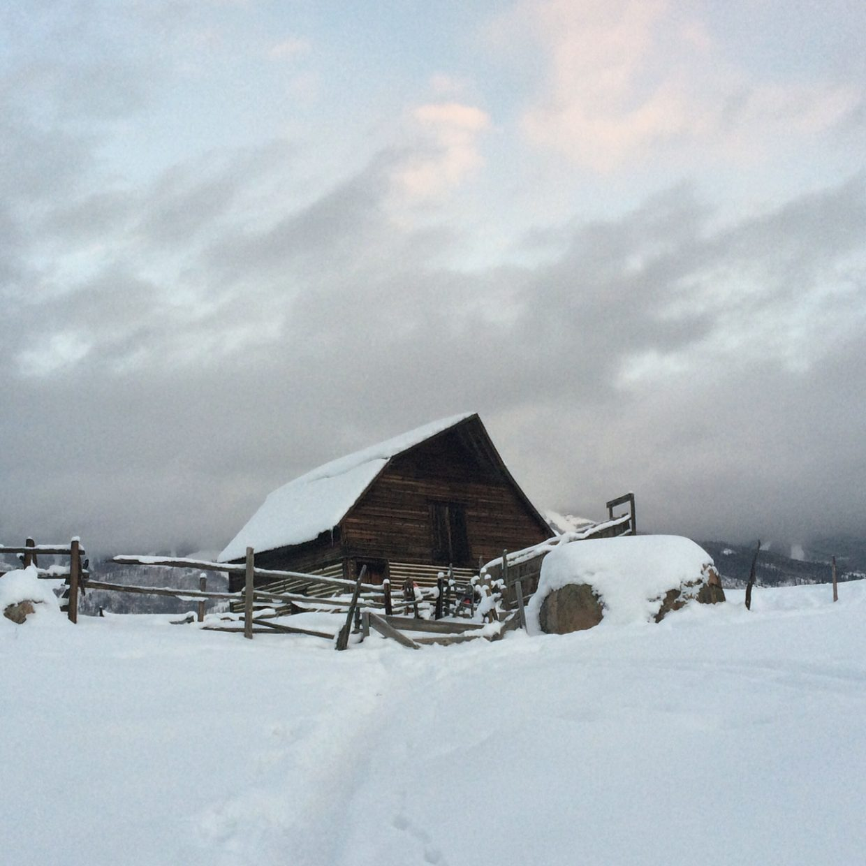 The Iconic Steamboat Barn. Submitted by: Linda Briseno