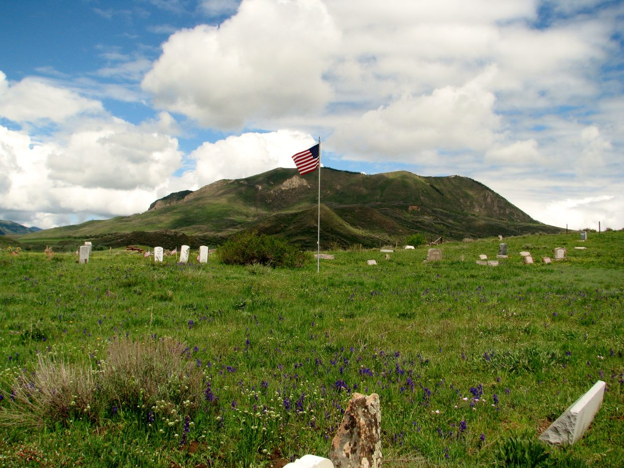 Elk Mountain Cemetery on Routt County Road 44. Submitted by: Krista Monger