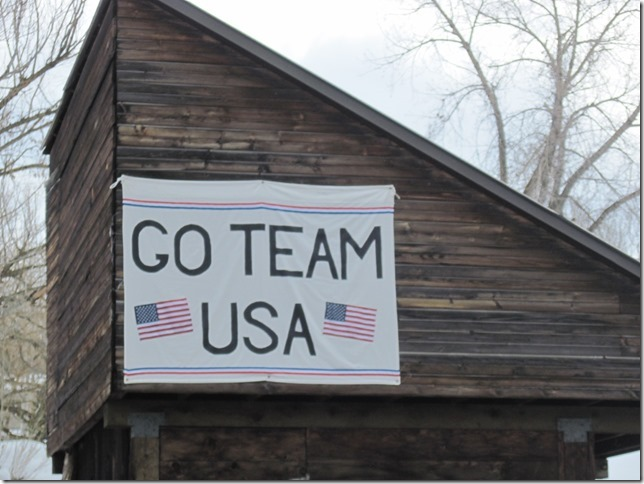 The Olympic spirit is alive and well in Steamboat Springs. Submitted by Carol Markowitz.