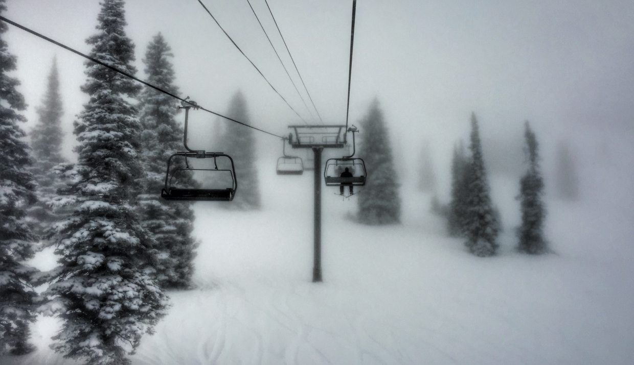 A very cold Monday morning at the Steamboat Ski Area. Submitted by Chris Lanham.