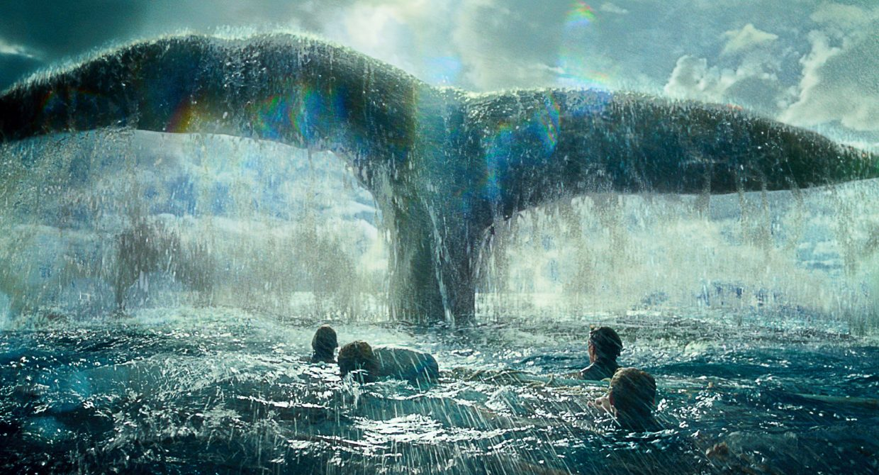 """The crew of the Essex gets more than they bargained for in """"In the Heart of the Sea."""" The movie is about the incident in the early 19th century that inspired the novel """"Moby-Dick."""""""