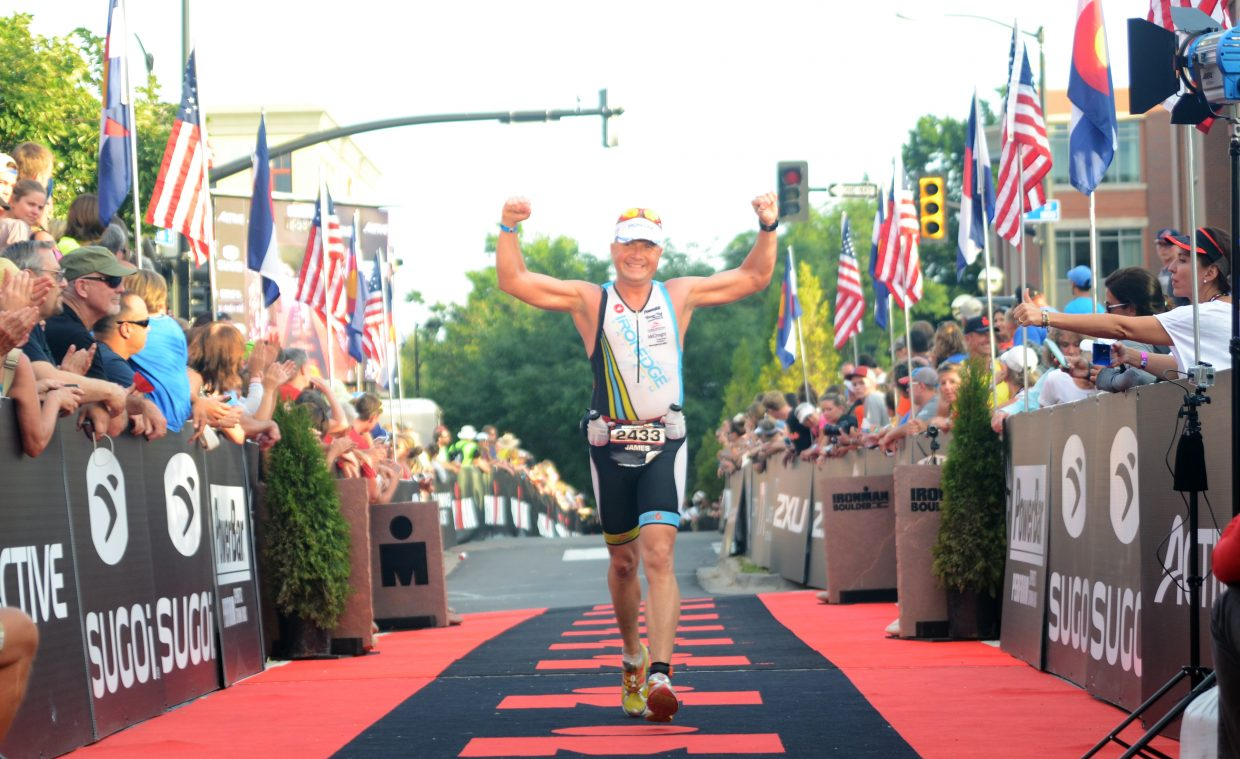 Jim McCreight was Steamboat Springs' second finisher, the fifth Ironman of his life.