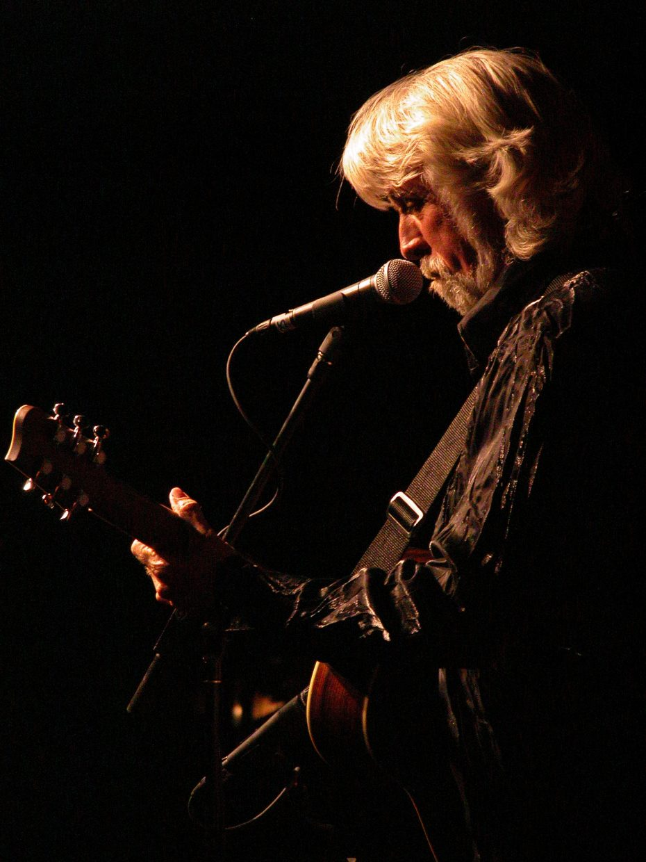 Music legen, John McEuen from the Nitty Gritty Dirt Band will be at the Chief Theater tonight.