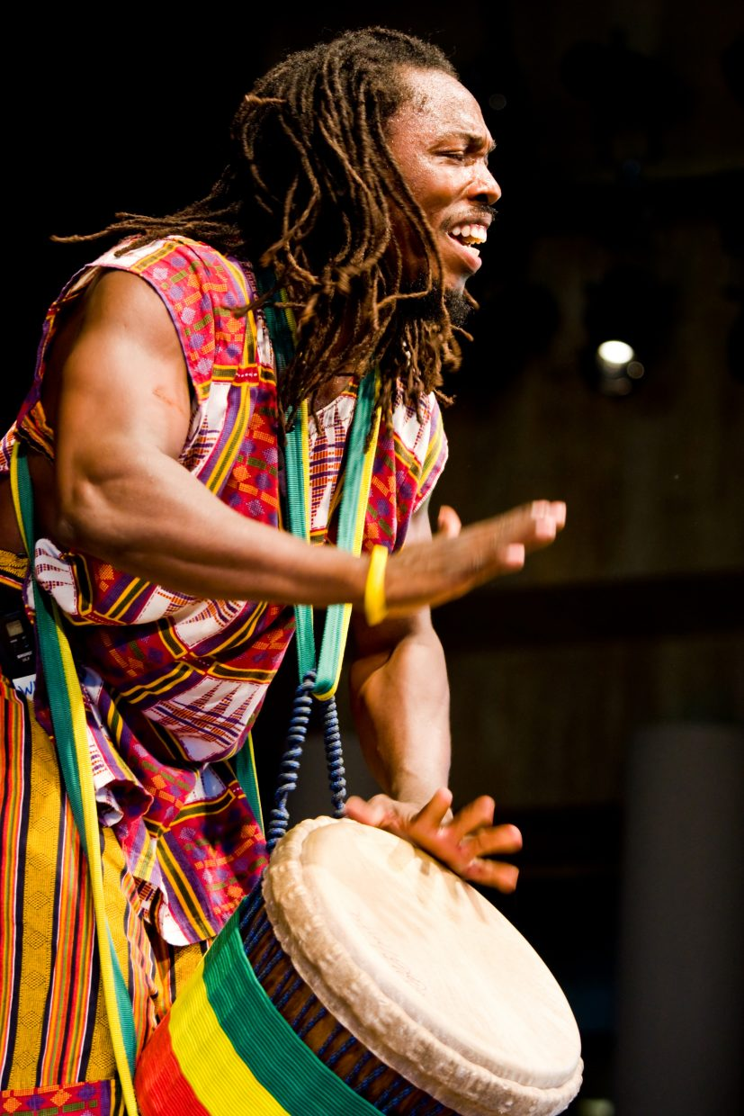 Fara Tolno and Kissidugu play at Strings Music Festival at 11 a.m. and 5:30 p.m. Tuesday. Kissidugu's part of our small world includes Guinea, Mali, Ivory Coast, Congo and Zimbabwe.