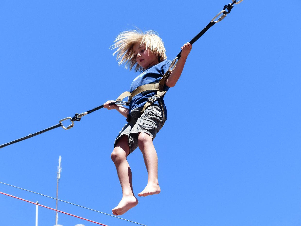 Here's a photo of a young boy that I thought captured a special moment in his life. Taken at Ski Town Square on Aug. 17. Submitted by: Robert Alderman