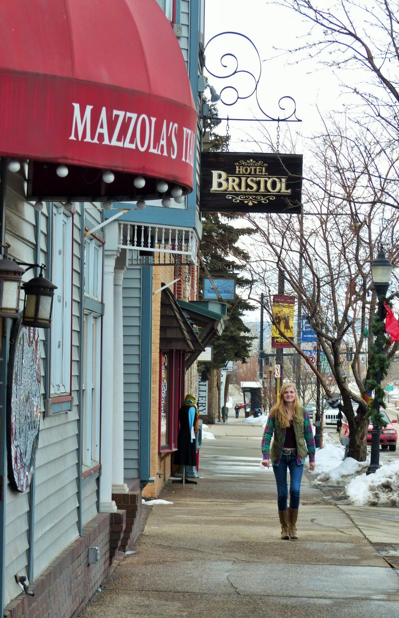 Downtown Steamboat Springs. Submitted by: Shannon Lukens