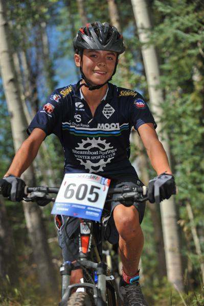 """Steamboat Springs High School student and member of the school's Mountain Bike Racing team, Tristan Fischer competes at Snow Mountain Ranch race in Granby last year. The documentary showing """"SingleTrack High"""" at Gondola Square on Saturday night will benefit the biking team."""
