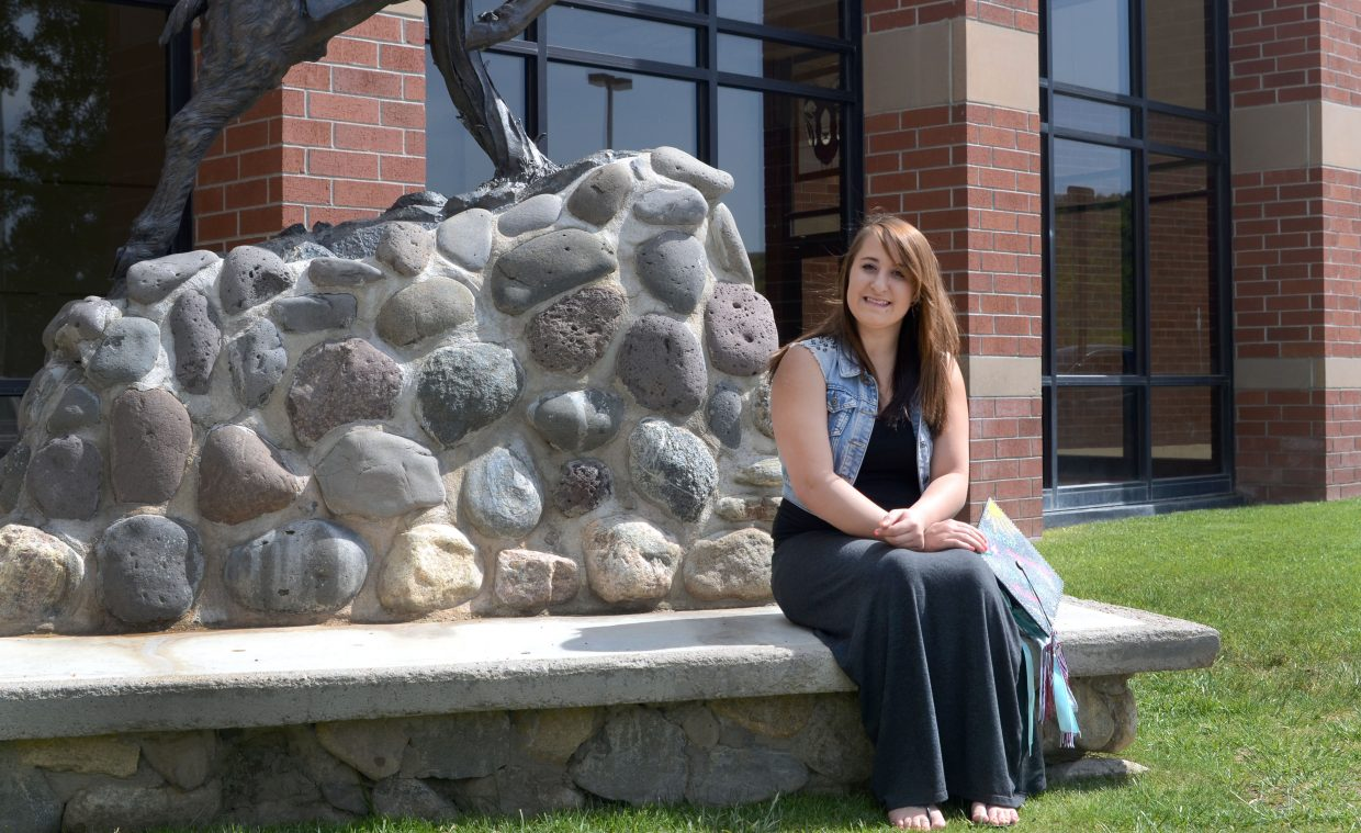 Soroco High School graduate Lexi Jonas knows what being independent feels like. But even though she's experienced in being on her own, she'll be making history in her family when she goes to CNCC in the fall as the first in her family to attend college.