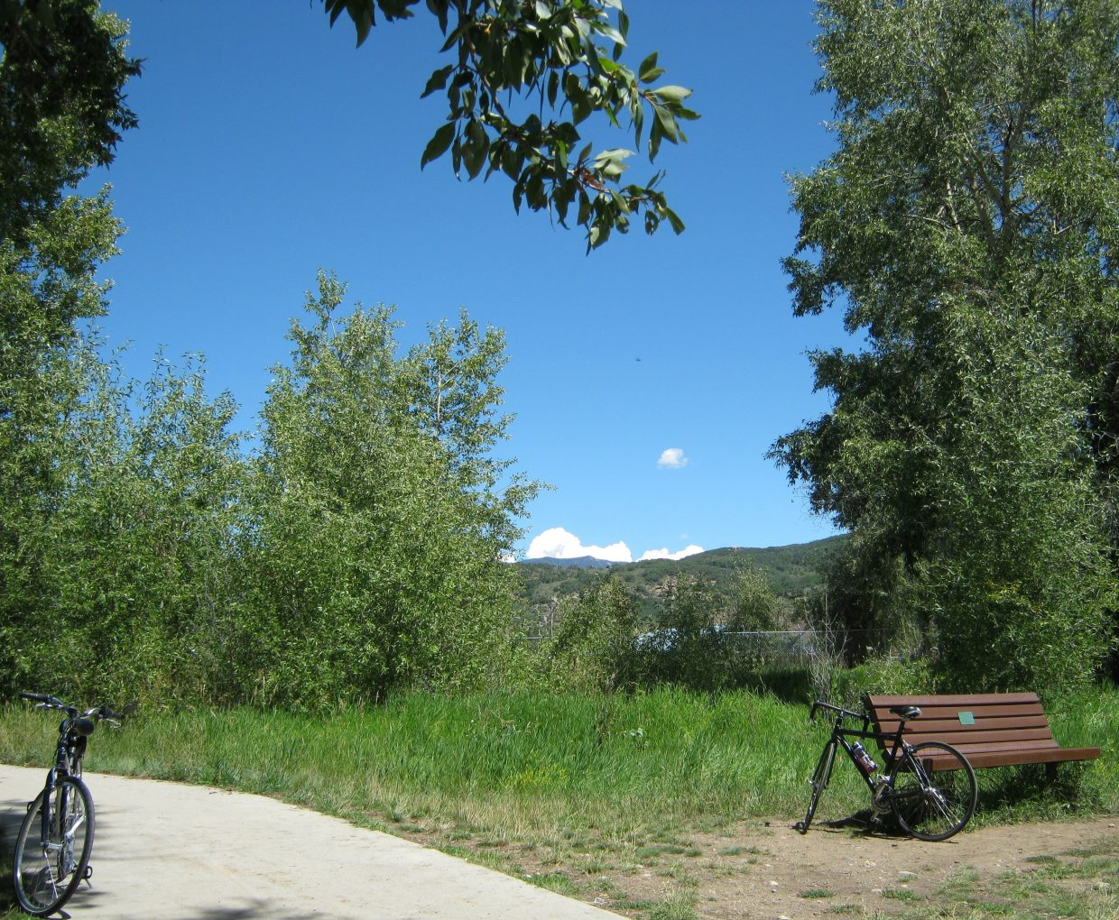 Lovely day for a bicycle ride. Submitted by: Janie Johnson-Russell