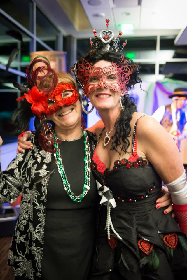 Lu Etta Loeber and Lisa Lorenz, supporters of the Yampa Valley Autism Program gathered for the local nonprofit's inaugural Masquerade Ball last year. This year marks the 7th annual event, benefitting services and programs provided by the Autism Program.