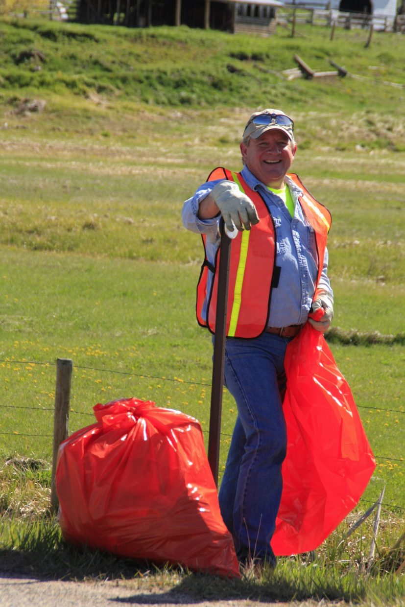Today's images from the 8th Annual Routt County Clean Up Day. Submitted by Andy Kennedy.