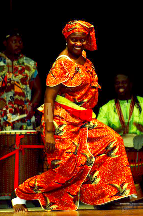 Mabiba Baegne, an internationally acclaimed teacher, drummer and choreographer of traditional and contemporary African Dance will be in town this week for the first time.