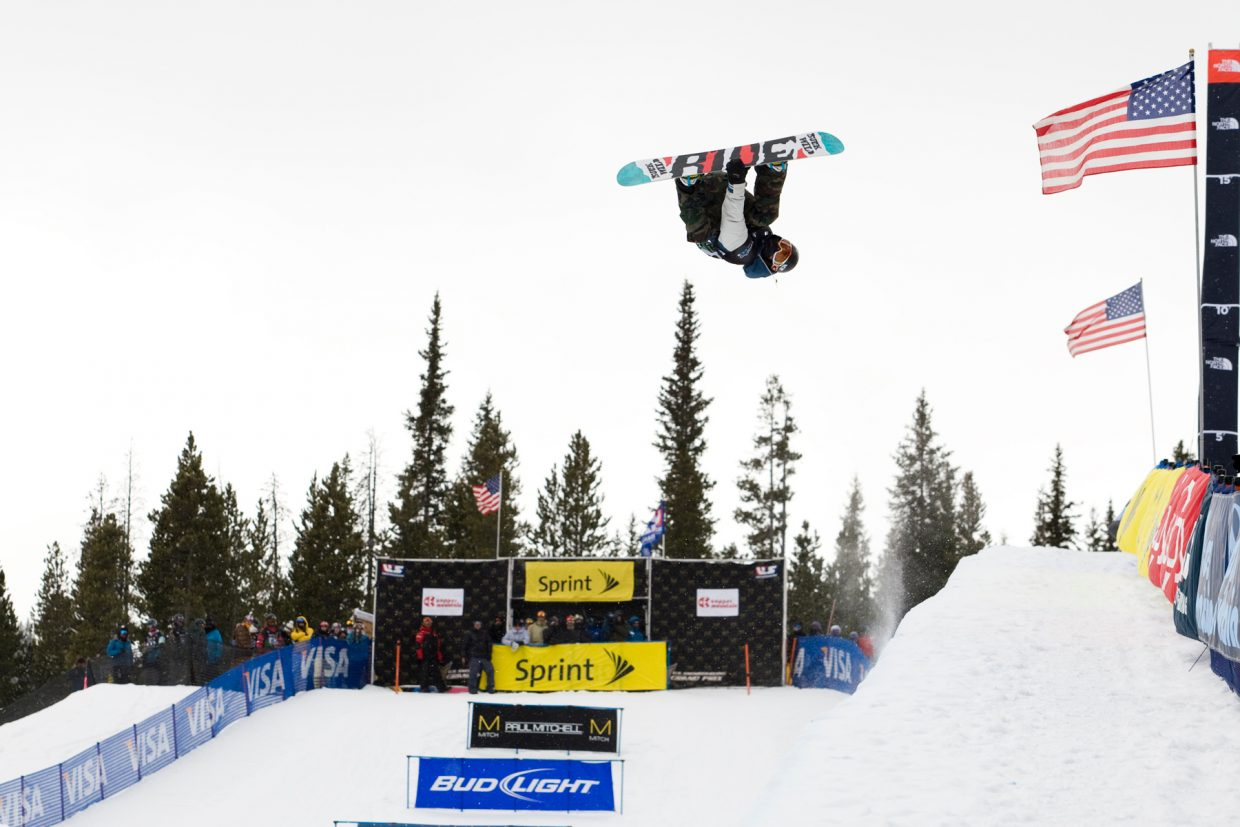 Matt Ladley competes in a 2011 Sprint U.S. Snowboarding Grand Prix event. A Dew Tour event and four Grand Prix events stand between Ladley and the 2014 Olympics. He was among six Steamboat Springs athletes named to the U.S. Snowboard Team and hopes to be one of four men named to the Olympic half-pipe team.