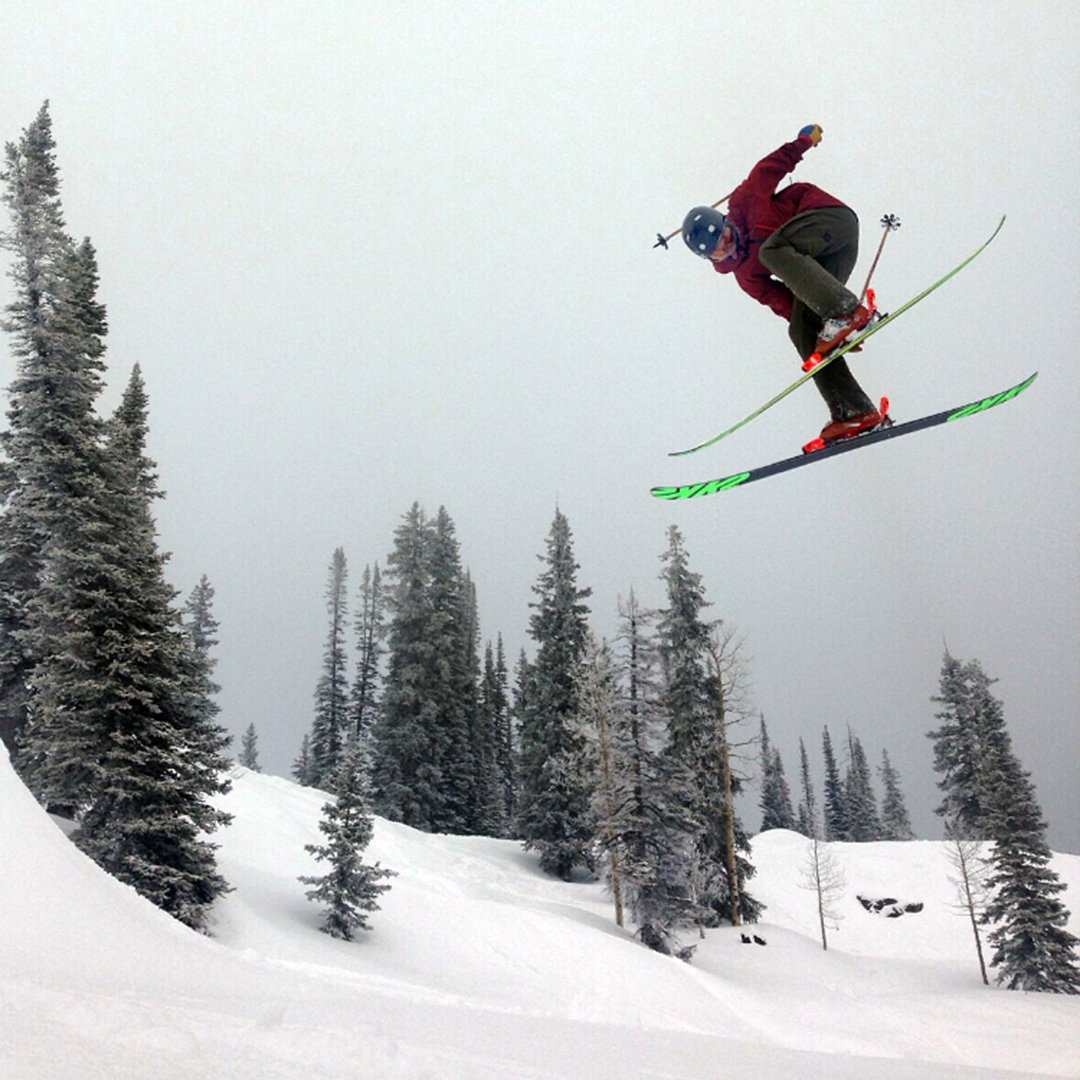 Matthew White had a decent amount of success as a big mountain skier last winter.