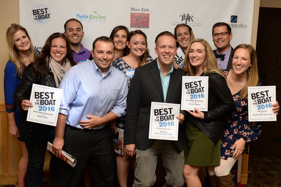 Members of the Young Professionals Network pose after the 2016 Best of the Boat awards celebration.