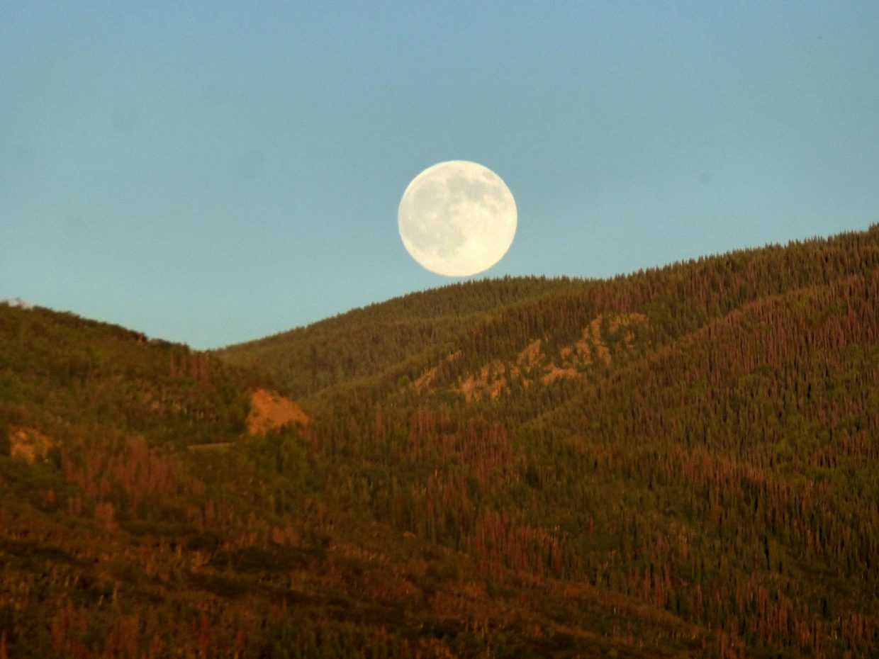 Moon shots over Steamboat